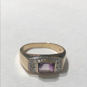 Jewelry - Amethyst Ring 5 3/4